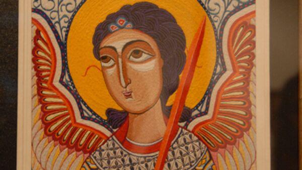 В Тбилиси открылась уникальная выставка шитых икон