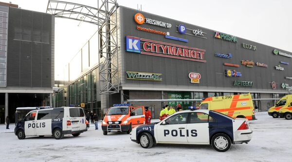 Четыре человека погибли из-за стрельбы в торговом центре в Финляндии