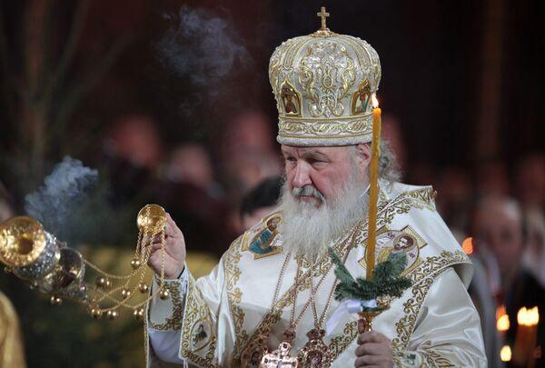 Патриарх Кирилл. Архив.