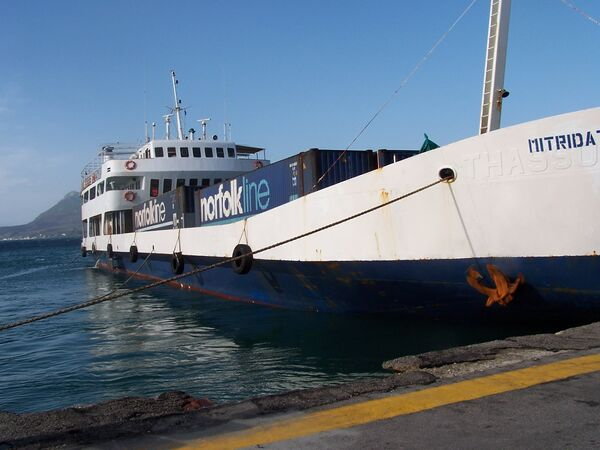 Грузовое судно Митридат