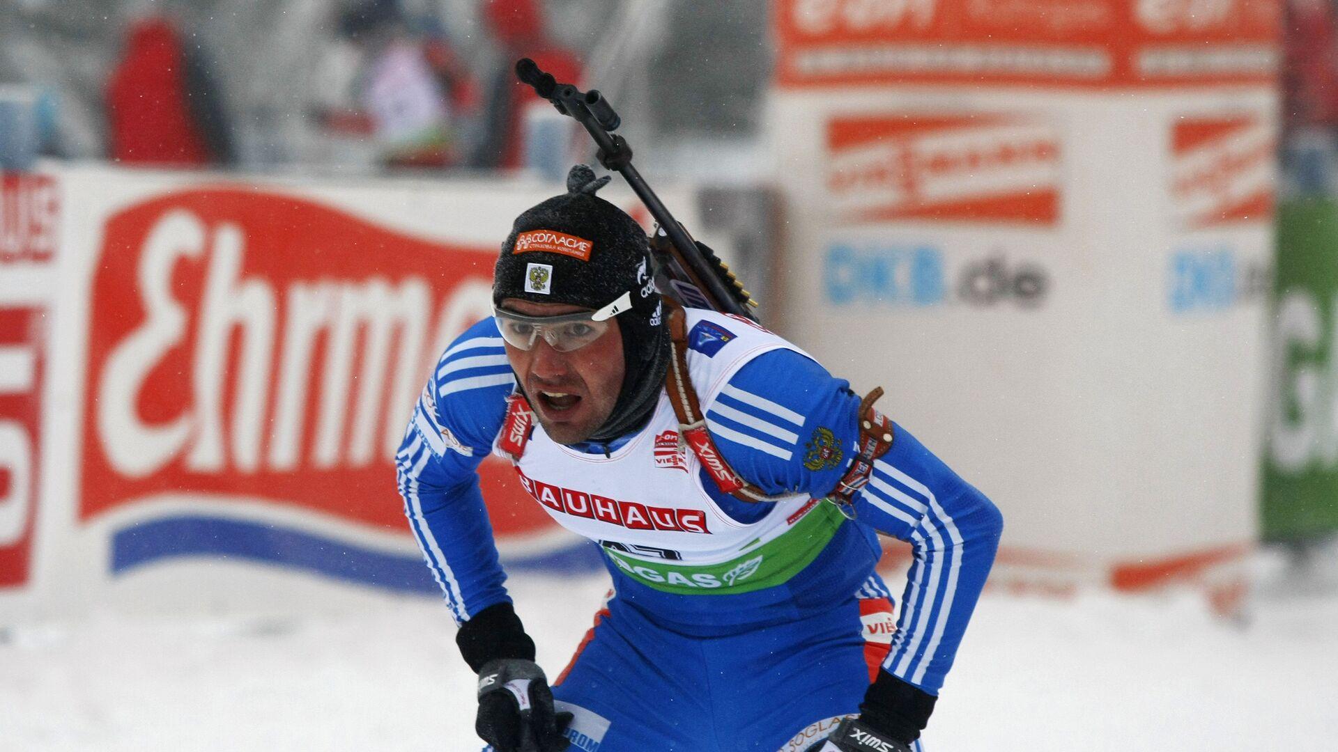 Российский биатлонист Николай Круглов - РИА Новости, 1920, 16.02.2021