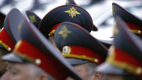 Сотрудники правоохранительных органов. Архив