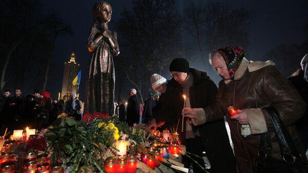 Мемориал памяти жертв голодомора 1932-1933 годов в Киеве