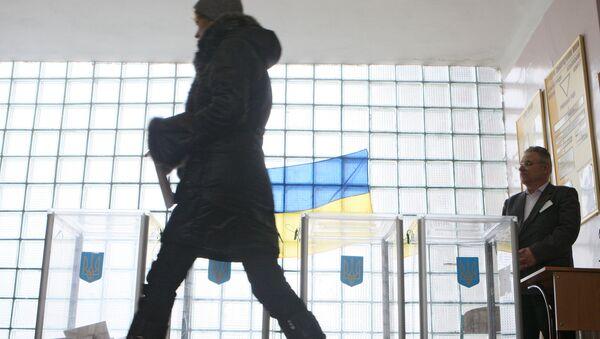 Голосование на президентских выборах в Киеве. Архив