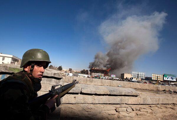 Столкновения в Кабуле