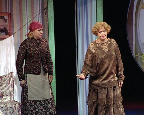 Валентина Талызина в спектакле Госпожа Министерша