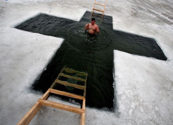 Праздник Крещения Господня в Приморском крае