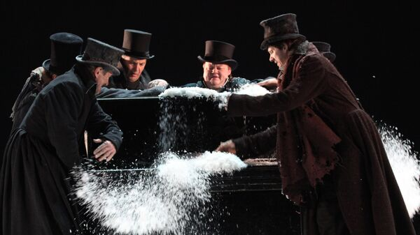 Предпремьерный показ спектакля Маскарад в Театре им.Вахтангова