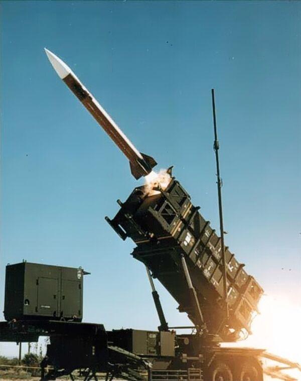 Патриот — зенитный ракетный комплекс  армии США