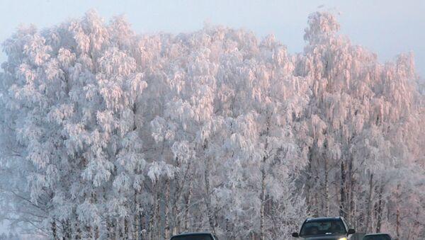 Зима в Калужской области. Архивное фото