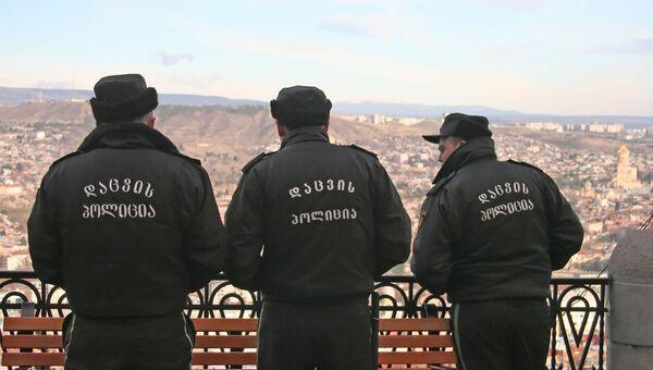 Грузинская полиция. Архив