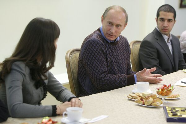 Премьер-министр В.Путин посетил Чувашский государственный университет