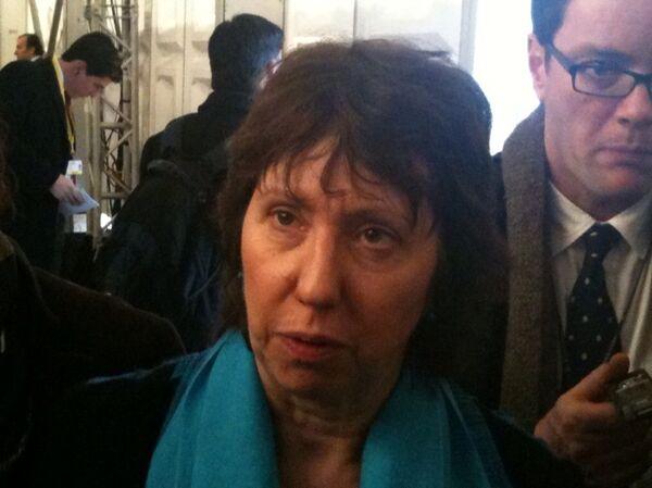 Высокий представитель ЕС по международным делам и политике безопасности баронесса Кэтрин Эштон. Архив.