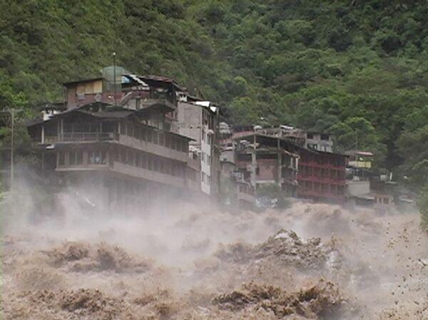Ливневые дожди в Перу вызвали оползни и разливы рек