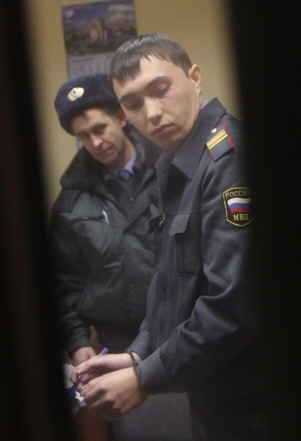 Убийство милиционера в здании прокуратуры в Москве