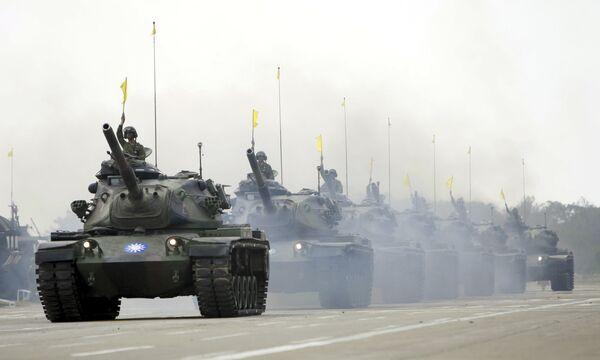 Военные учения на Тайване