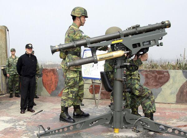 Военные учения в Тайване