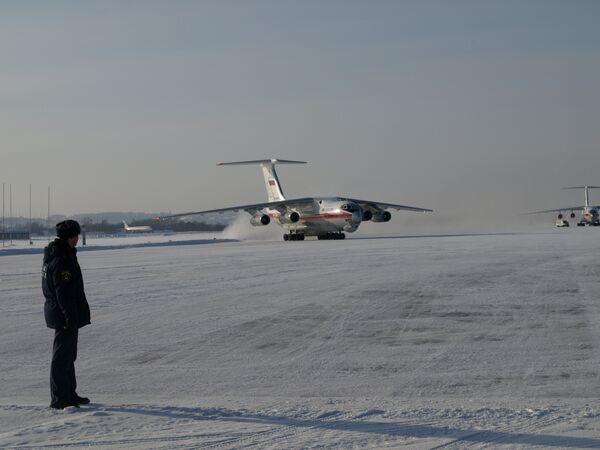Самолет МЧС. Архив