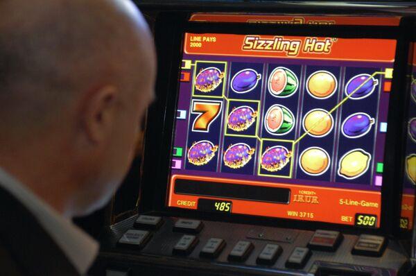 Посетитель казино. Архив