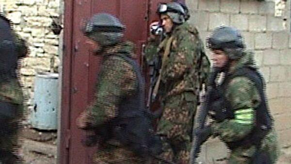 Спецоперация в Дагестане. Архив.