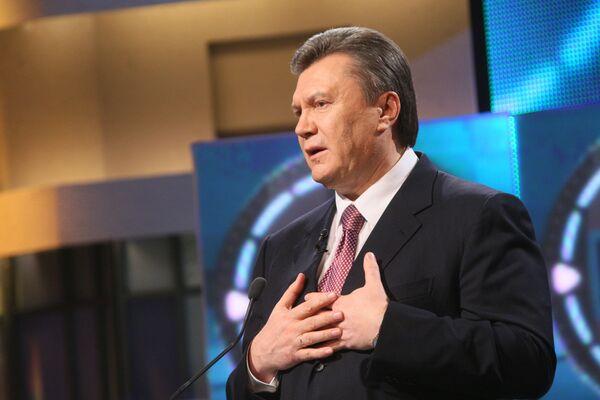 Кандидат в президенты Украины Виктор Янукович. Архив