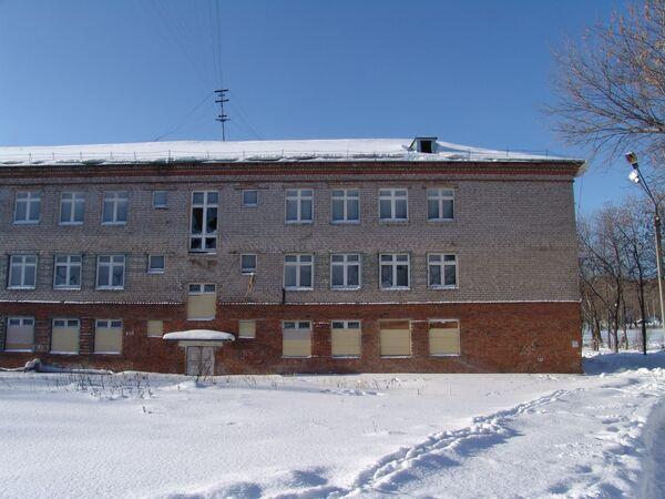 Один из российских интернатовю. Архив