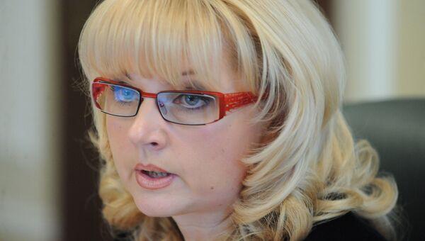 Министр Татьяна Голикова