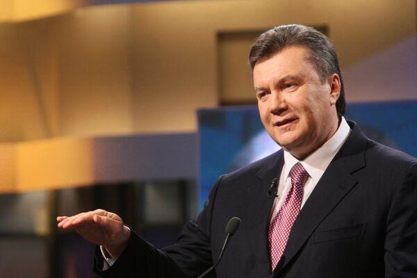 Виктор Янукович. Архив