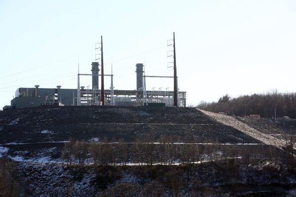 Электростанция Kleen Energy в Коннектикуте, где 7 февраля 2010 года произошел взрыв