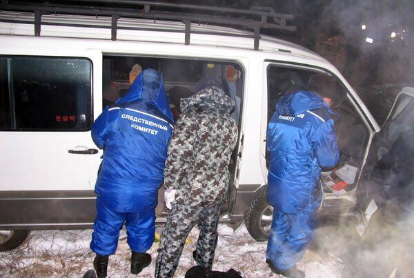 Расследование убийства семи предпринимателей в Бурятии