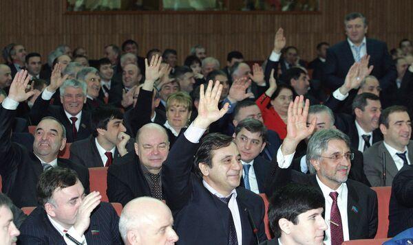 Депутаты Дагестанского парламента. Архив
