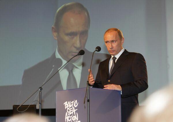 Путин показал в Хельсинки чистоту Северного потока