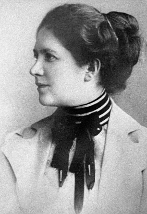 Писательница Лидия Авилова