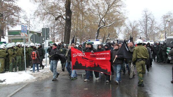 Марш неонацистов и их противников прошел в Дрездене