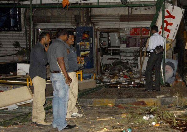 Теракт в индийском городе Пуна