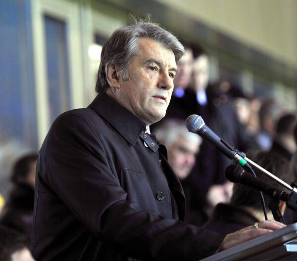 Президент Украины Виктор Ющенко. Архив