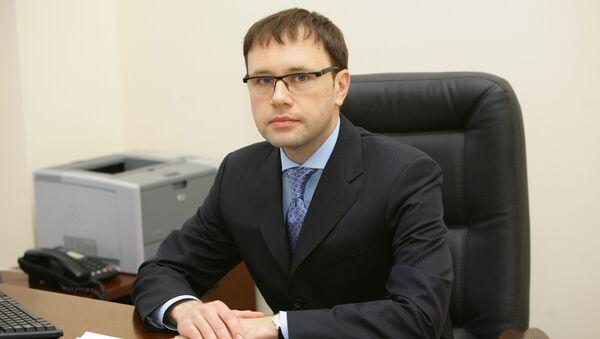 Глава нового департамента по делам инвалидов Минздравсоцразвития России Григорий Лекарев.