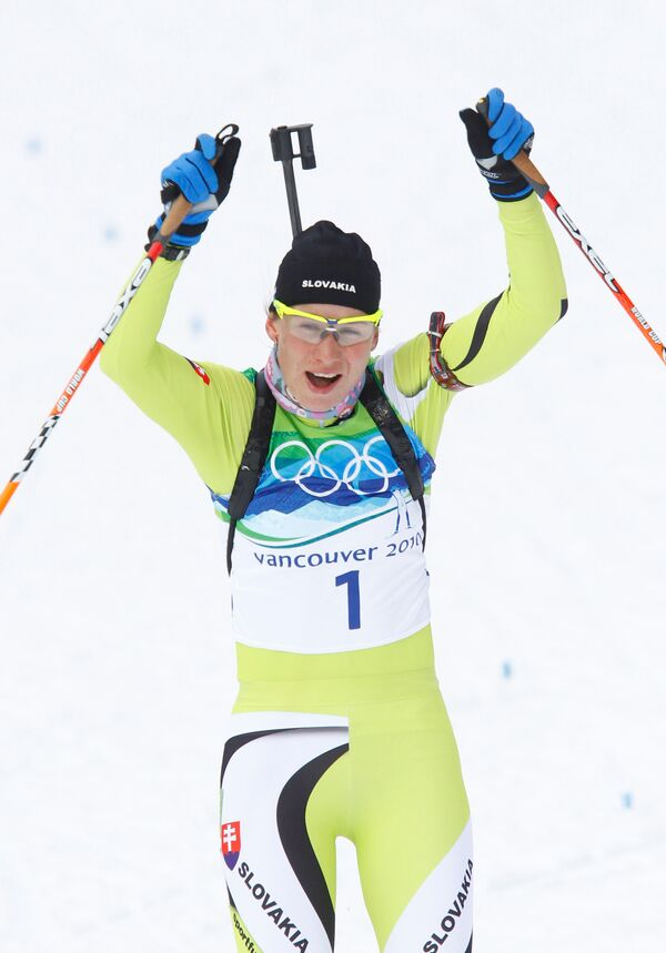 Олимпиада - 2010. Биатлон. Женщины. Гонка преследования 10 км