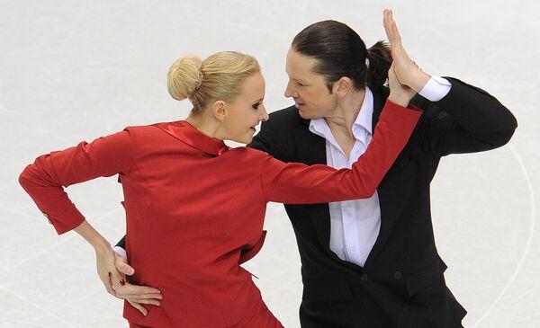 Олимпиада - 2010. Фигурное катание. Спортивные танцы на льду. Обязательный танец