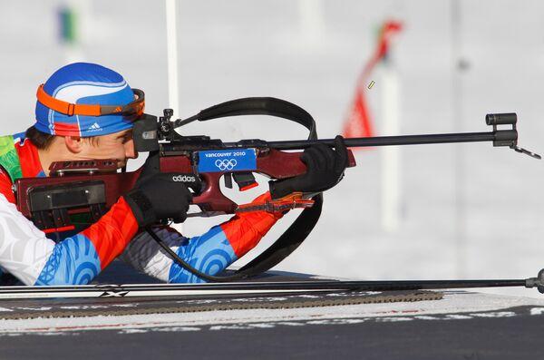 Олимпиада - 2010. Биатлон. Мужчины. Масс-старт. 15 км