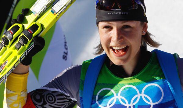 Олимпиада - 2010. Биатлон. Женщины. Масс-старт. 12,5 км. Финал