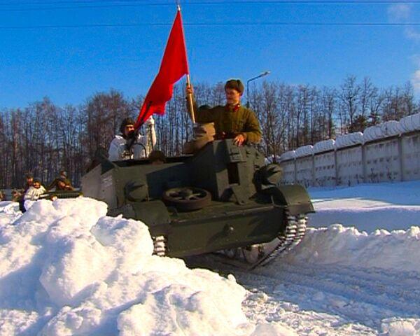 Враг отброшен на подступах к Москве - реконструкция событий 1942 года