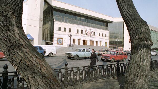 Здание цирка на Цветном бульваре. Архив