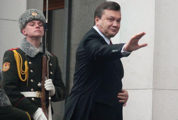 Президент Украины Виктор Янукович. Архив