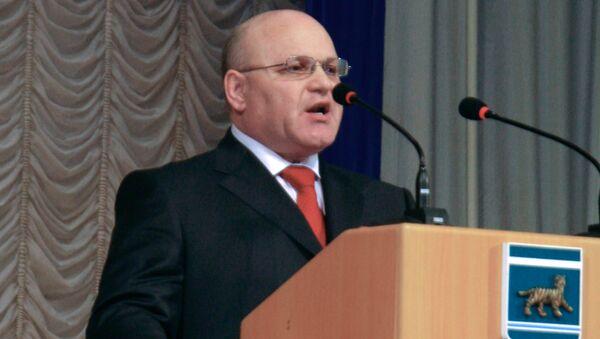 Экс-губернатор Еврейской автономной области Александр Винников. Архивное фото