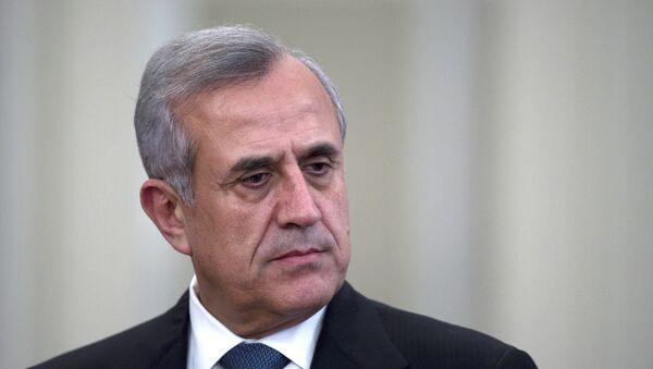 Экс-президент Ливана Мишель Сулейман, архивное фото