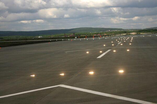 Екатеринбургский аэропорт Кольцово. Архив