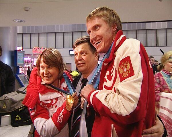Чемпион Скобрев попросил прощения за Олимпиаду и станцевал лезгинку