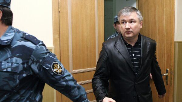 Бывший сенатор от Башкирии Игорь Изместьев в Басманном районном суде. Архив
