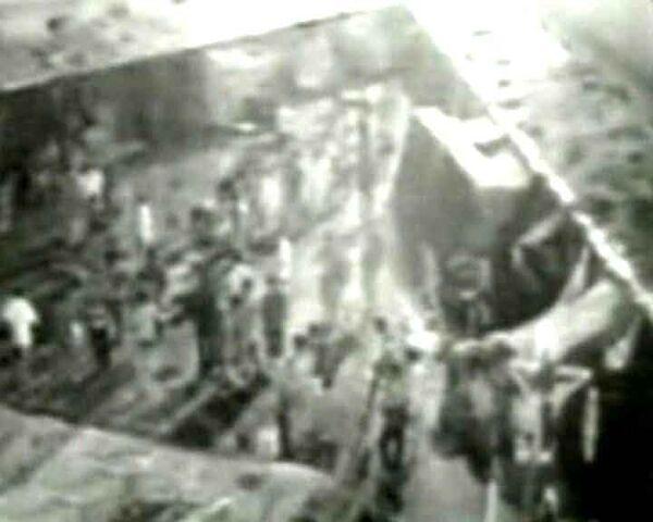 Начало землетрясения в Чили: видео очевидца и камер слежения
